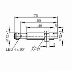 Capteur de vitesse inductif M12 - Blanchard RSB3