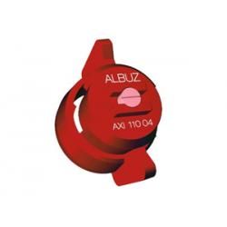 Buses Albuz FASTCAP AXI 110° 04 ROUGE