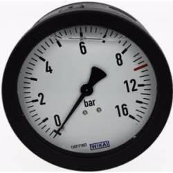 """manomètre à echelle dilatée 100 mm - 1/4""""arrière- fixation axial - 0-8-16 bar"""