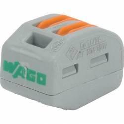 Wago 2 fils S222 - borne de jonction 2 conducteurs