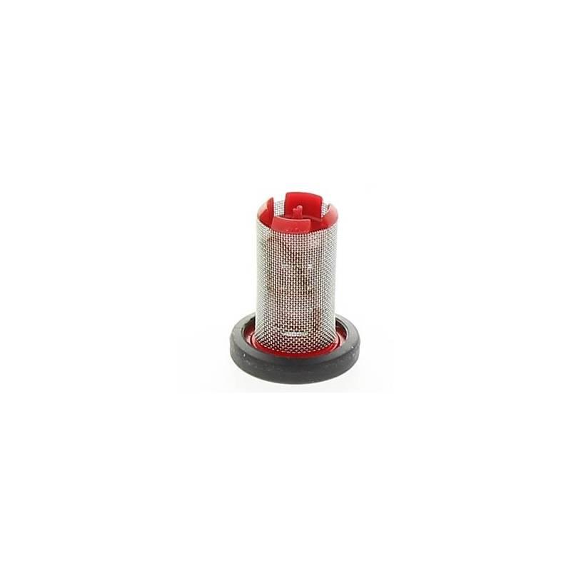 Filtre de buse Hardi 80 mesh rouge avec joint