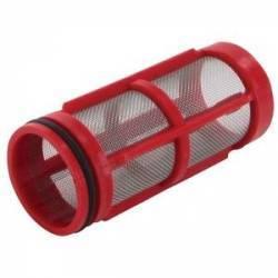 Tamis 32 mesh rouge 38 x 87 mm pour filtre Arag