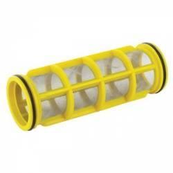 Tamis filtre 345 - 80 mesh jaune - 50 x 150 mm