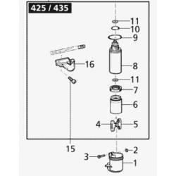 Piston de pompe SOLO 425 - 435 - 473P