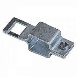 Bride métallique carrée 32 mm