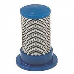 Filtre de buse cylindrique 50 mesh bleu