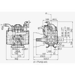 Pompe à membrane Annovi Reverberi AR 50 AP