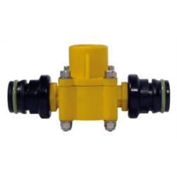 Débimètre petit débit Polmac - Corp rilsan - Filetage 1/4- 0.3 - 6L/mn