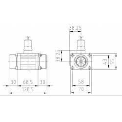 """Débimètre Polmac Turbo Flow 1""""1/2"""