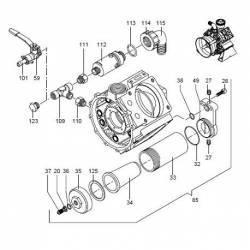 Joint cloche à air Annovi Reverberi AR 1044