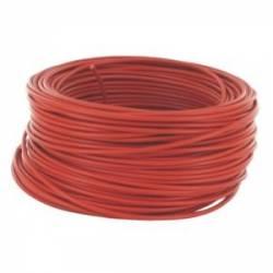 Câble 1x2.5mm2 rouge 10M
