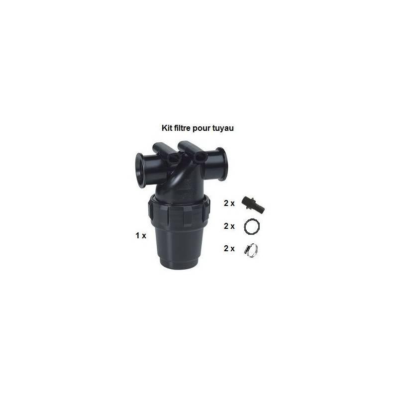 Kit filtre de tronçon Arag tuyau 16 mm - 50 mesh bleu