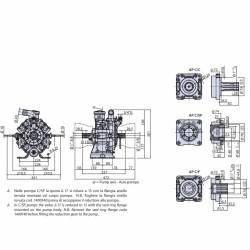 Pompe Annovi Reverberi AR 1064 - 50 bars - version C/SP