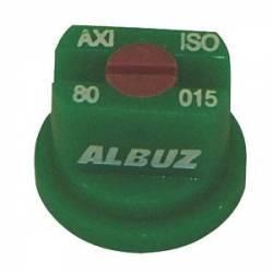 Buse Albuz AXI 80° 015 Verte