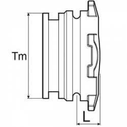 Bouchon Arag T3 Mâle