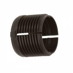 """Bague filetée 3/4"""" pour tube Hardi 22 mm plastique noir"""
