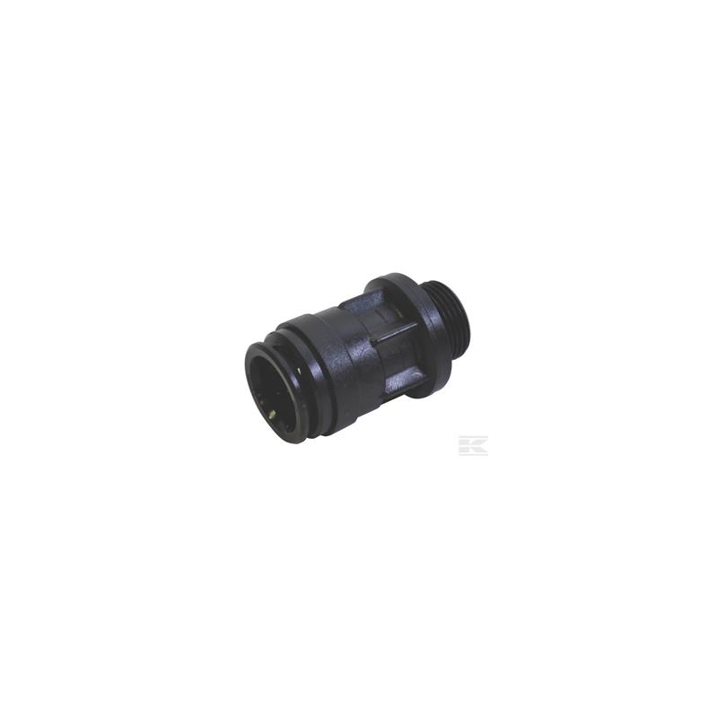 Raccord rapide pour tube de 22 mm - filetage M3/4''
