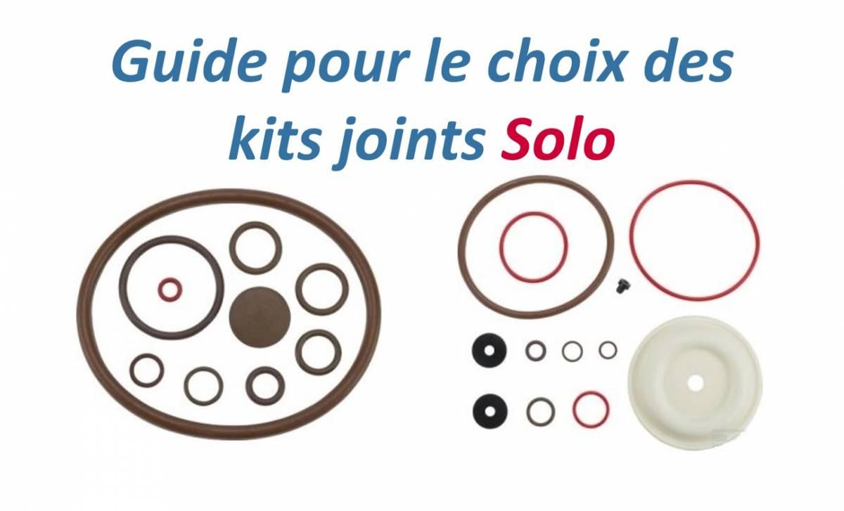 Pochette de joints pour pulvérisateur Solo