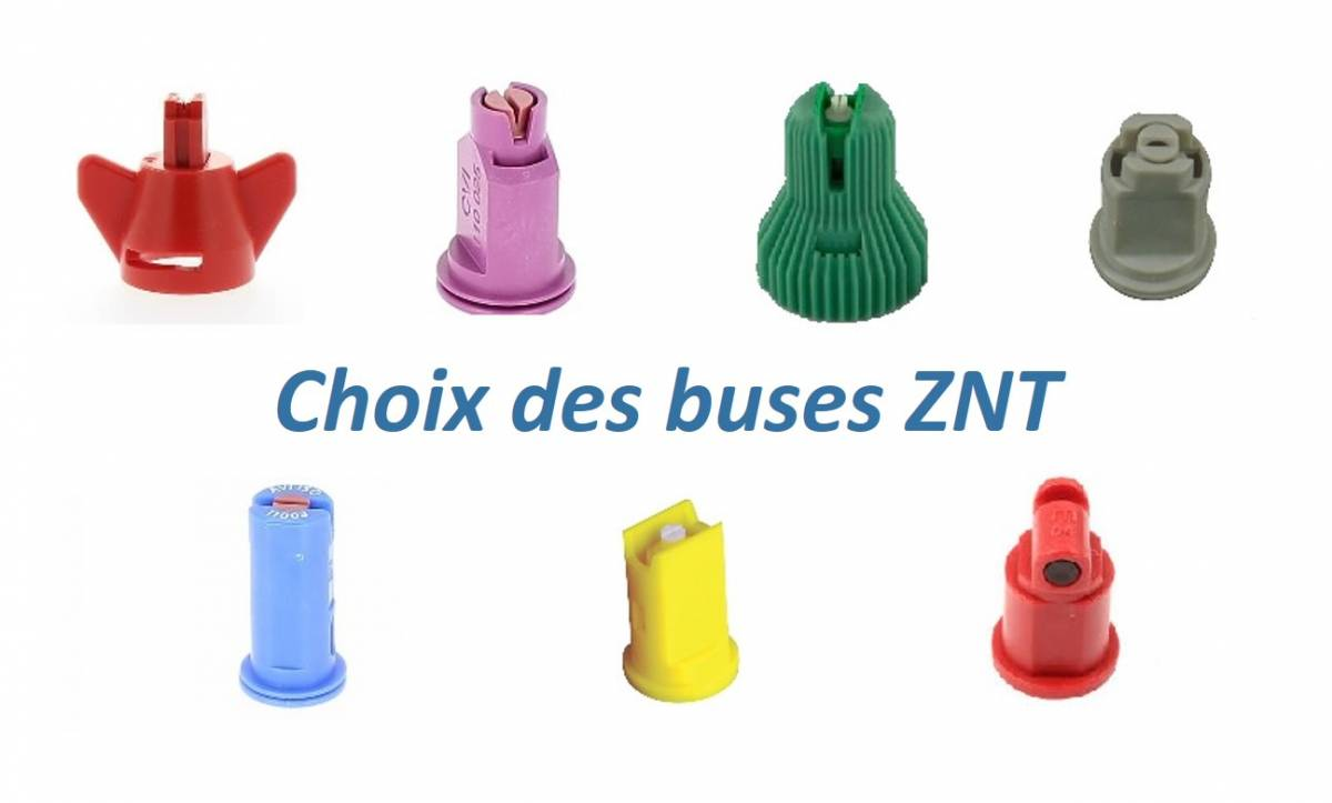 Choix des buses ZNT